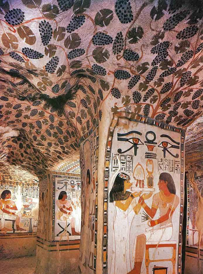 Peinture égyptienne dans l'Antiquité