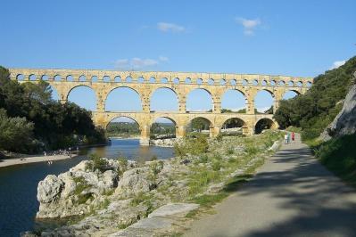 Le pont du Gard aujourd hui
