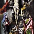 Le Greco. Crucifixion (1596-1600)