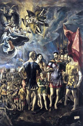 Le Greco. Le martyre de St Maurice (1580-81)