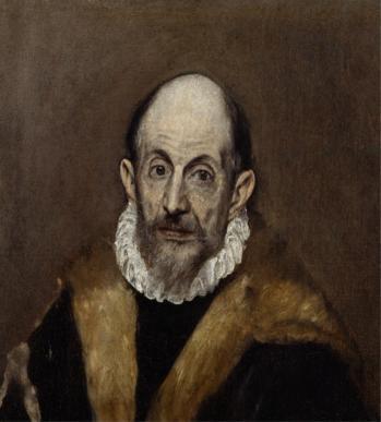 Le Greco. Portrait d'un homme (1590-1600)