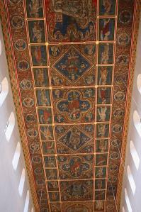 Le plafond de l'église de Hildesheim (1225-50)