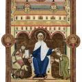 Les Évangiles d'or d'Henri III, Vierge en majesté (1043-46)