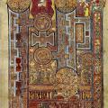 Livre de Kells, folio 292r (v. 820)