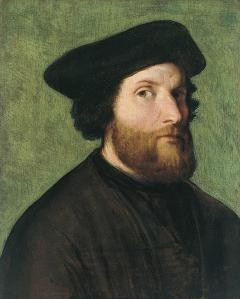 Lorenzo Lotto. Autoportrait (v. 1540)