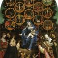 Lorenzo Lotto. La Madone du rosaire (1539)