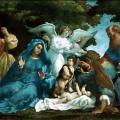 Lorenzo Lotto. La Sainte Famille avec trois anges (1536-37)