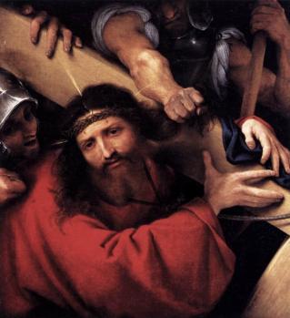Lorenzo Lotto. Le portement de croix (1526)