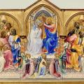 Lorenzo Monaco. Le couronnement de la Vierge (1407-09)