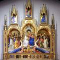 Lorenzo Monaco. Le couronnement de la Vierge (1414)
