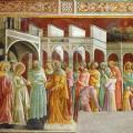Lorenzo Monaco. Le Mariage de la Vierge (1420-24)