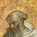 Lorenzo Monaco. Saint Romuald, détail (v. 1420)