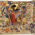 Lorenzo Monaco. Antiphonaire (1396-1400)