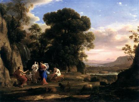 Claude Lorrain. Le jugement de Pâris (1645-46)