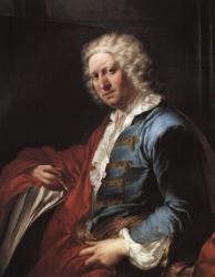 Portrait de Pannini par Louis-Gabriel Blanchet, 1765