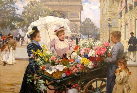 Louis Marie de Schryver. Arc de Triomphe, Paris (1886)