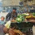 Louis Marie de Schryver. Le marchand des quatre saisons (1895)