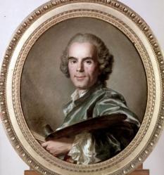Louis-Michel Van Loo. Portrait de Joseph Vernet (1768)