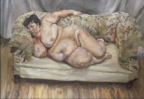 Lucian Freud. Bénéfices du sommeil (1995)