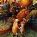 Maître Francke. Retable de sainte Barbe (v. 1410-1420)