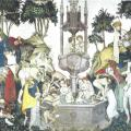 Maître du château de la Manta. Fontaine de Jouvence (v. 1420)