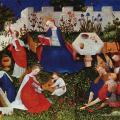 Maître du Haut Rhin. Le Jardin de Paradis (v. 1410-20)