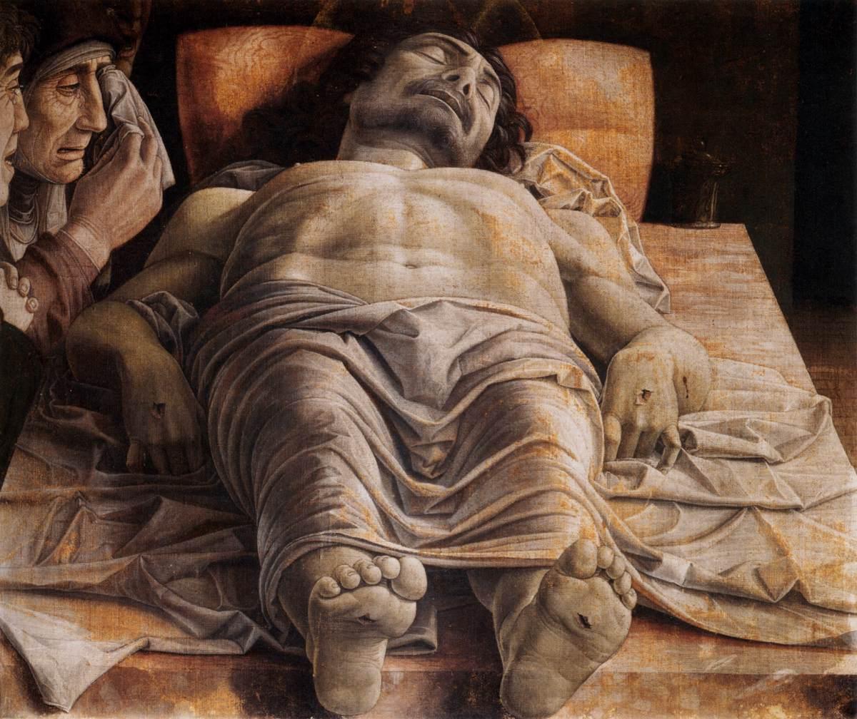 Ca s'est passé en septembre ! Mantegna-lamentation-sur-le-christ-mort-c-1490