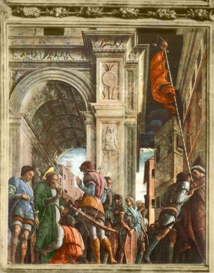 Mantegna. Saint-Jacques conduit au supplice (1453-57)