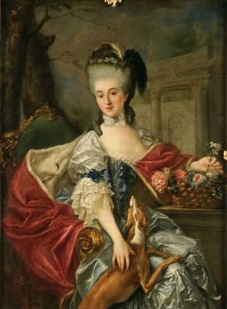Marcello Bacciarelli. Portrait de la princesse Lubomirska (1775-77)
