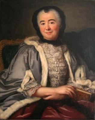 Marie-Anne Loir. Portrait de Marie de Rey, première duchesse de Fleury (v.1750)
