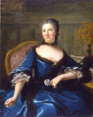 Marianne Loir. Portrait de la marquise du Châtelet (1745-69)