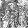 Martin Schongauer. Adoration des Mages (v. 1475)