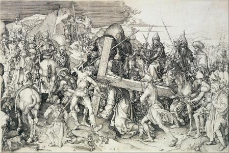 Martin Schongauer. Le Christ portant sa croix (v. 1475)
