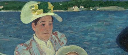 Mary Cassatt La promenade en barque, détail