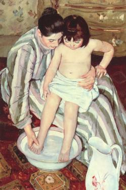 Mary Cassatt. La toilette de l'enfant (1893)