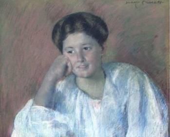 Mary Cassatt. Portrait de Louisine Elder (v. 1880-85)