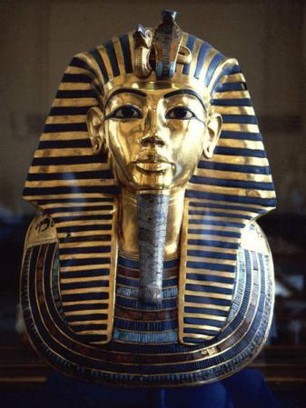 Masque funéraire de Toutankhamon (v. -1327)