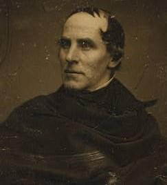 Mathew brady portrait de thomas cole 1844 48
