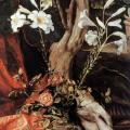 Matthias Grünewald. La Vierge de Stuppach, détail (1517-19)