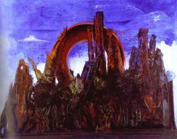 Max Ernst. Forêt (1927)