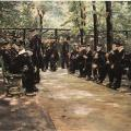 Max Liebermann. Maison de retraite à Amsterdam (1880)
