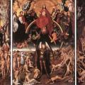 Memling. Triptyque du jugement dernier, ouvert (1467-71)