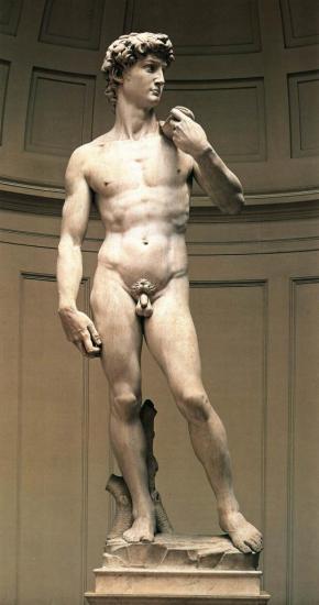 Michel-Ange. David (1504)