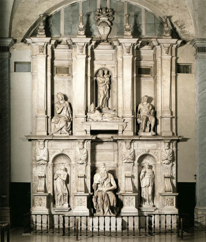 Michel Ange Tombeau De Jules II 1545