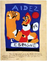 Miro. Aidez l'Espagne (1937)