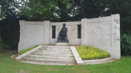 Monument dédié à Émile Claus à Gand (Citadelpark, 1926)