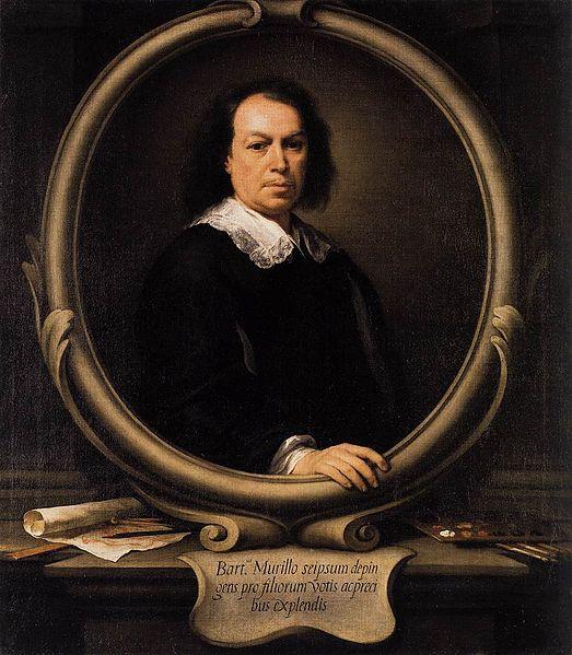 Ca s'est passé en avril ! Murillo-autoportrait-1670-73
