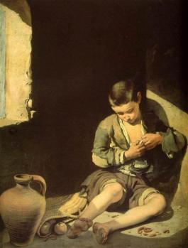 Murillo. Le jeune mendiant (1645-50)