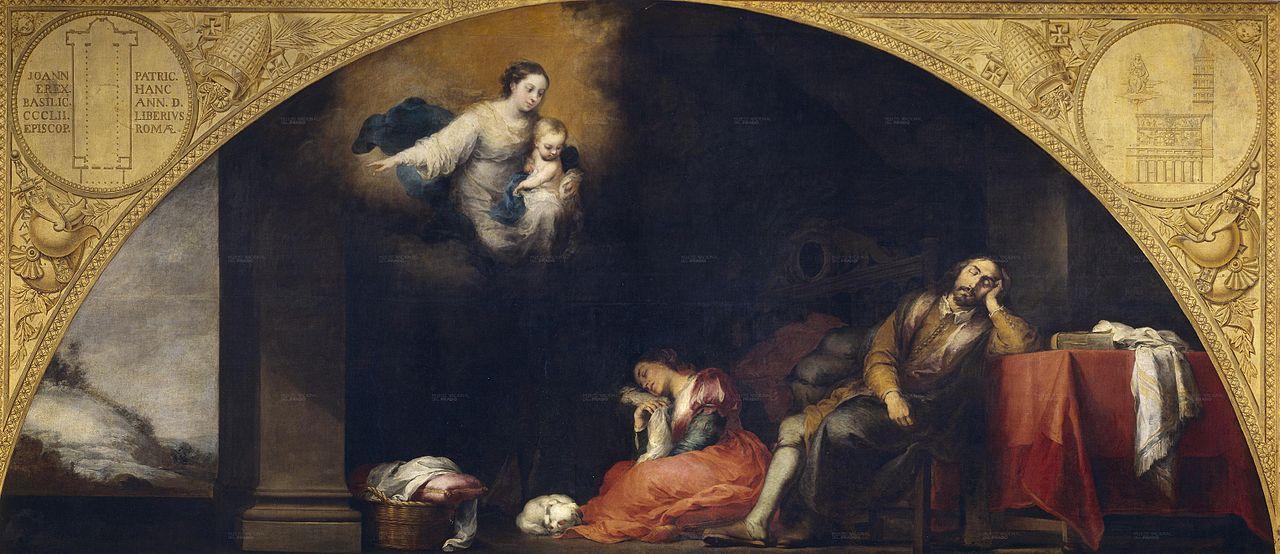 Ca s'est passé en avril ! Murillo-le-songe-du-patricien-1663