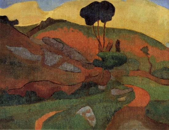 Ballin. Paysage (1891-92)